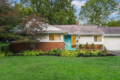 Bexley Single Family Home Contingent Finance And Inspect: 184 N Merkle Road