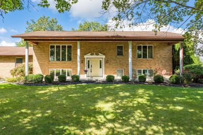Single Family Home Contingent Finance And Inspect: 4330 NE Plain City-Georgesville