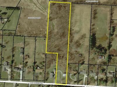 Westerville Residential Lots & Land Contingent Finance And Inspect: Freeman Road