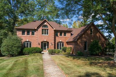 Westerville Single Family Home For Sale: 607 Brook Run Drive