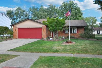 Grove City Single Family Home Contingent Finance And Inspect: 3388 Independence Street