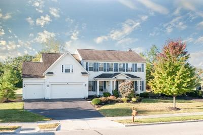 Lewis Center Single Family Home For Sale: 5465 Polar Drive