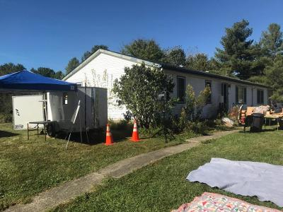 Single Family Home Contingent Finance And Inspect: 10271 Appleton Road