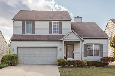 Hilliard Single Family Home Contingent Finance And Inspect: 2227 Yagger Bay Drive
