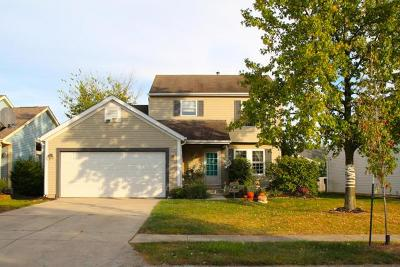 Pickerington Single Family Home Contingent Finance And Inspect: 2968 Grand Haven Drive