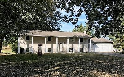 Single Family Home Contingent Finance And Inspect: 8040 Sadie Thomas Road NW