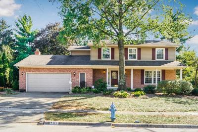 Worthington Single Family Home Contingent Finance And Inspect: 451 Blandings Court