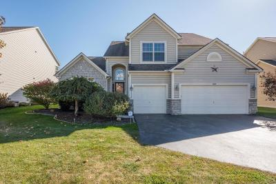 Blacklick Single Family Home Contingent Finance And Inspect: 7885 Narrow Leaf Drive