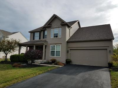 Hilliard Single Family Home Contingent Finance And Inspect: 3256 Benbrook Pond Drive