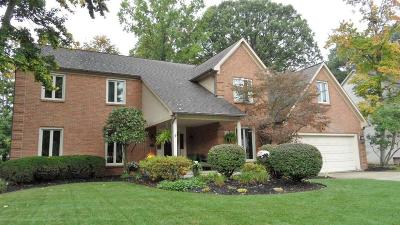 Westerville Single Family Home Contingent Finance And Inspect: 1177 Three Forks Drive N