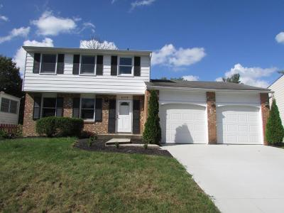 Westerville Single Family Home Contingent Finance And Inspect: 6379 Thrasher Loop