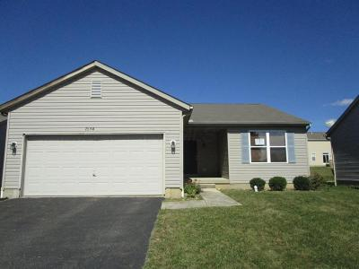 Blacklick Single Family Home Contingent Finance And Inspect: 7654 Farm Hill Drive