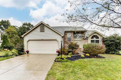 Dublin Single Family Home Contingent Finance And Inspect: 6426 Wynwright Drive