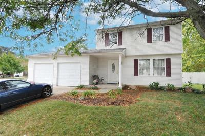 Worthington Single Family Home Contingent Finance And Inspect: 7599 Exploration Drive