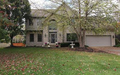 Westerville Single Family Home For Sale: 5524 Bellerive Place