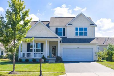 Hilliard Single Family Home Contingent Finance And Inspect: 3264 Benbrook Pond Drive
