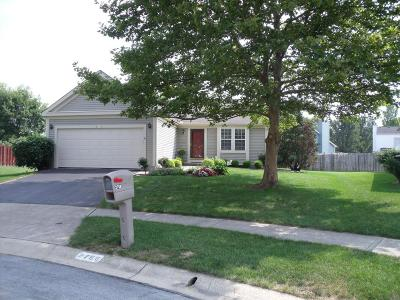 Hilliard Single Family Home Contingent Finance And Inspect: 2768 Bramble Court