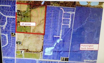 Pickerington Residential Lots & Land Contingent Finance And Inspect: 12280 Milnor Road
