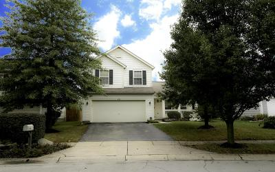 Canal Winchester Single Family Home Contingent Finance And Inspect: 4998 Brice Creek Drive
