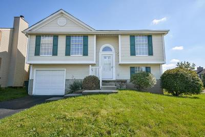 Reynoldsburg Single Family Home Contingent Finance And Inspect: 2858 Arrowsmith Drive