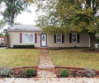 Reynoldsburg Single Family Home Contingent Finance And Inspect: 7363 Rodebaugh Road