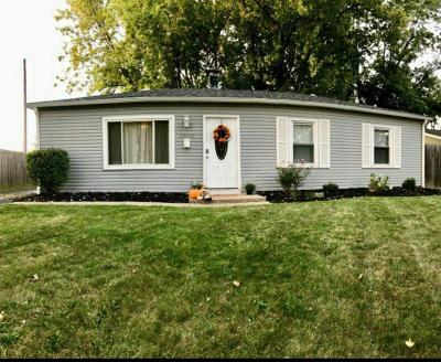 Hilliard Single Family Home Contingent Finance And Inspect: 5600 Revere Drive