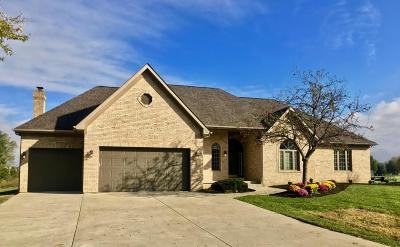 Pickerington Single Family Home Contingent Finance And Inspect: 7720 Stemen Road