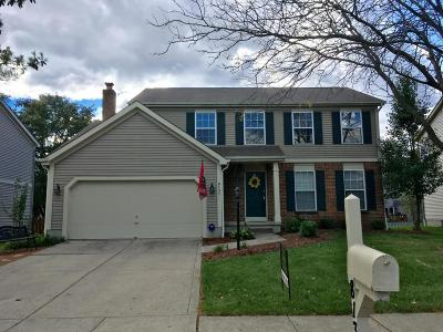Westerville Single Family Home Contingent Finance And Inspect: 8131 Pelham Drive