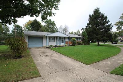 Westerville Single Family Home For Sale: 3669 Bogota Drive