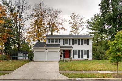 Westerville Single Family Home Contingent Finance And Inspect: 127 Triesta Place
