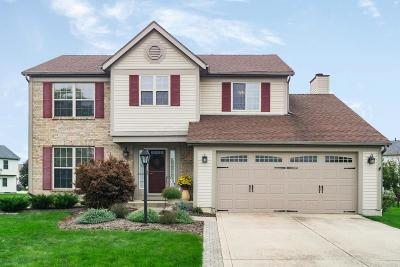 Hilliard Single Family Home Contingent Finance And Inspect: 5425 Delano Court