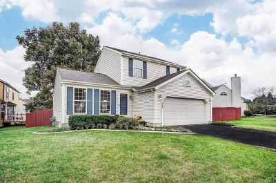 Single Family Home Contingent Finance And Inspect: 4387 Grays Market Drive