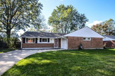 Single Family Home For Sale: 1621 Lucks Road