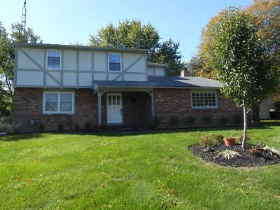 Hilliard Single Family Home For Sale: 4433 Hansen Drive