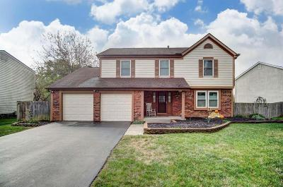 Reynoldsburg Single Family Home For Sale: 7181 Daugherty Drive