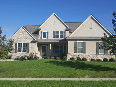 Pickerington Single Family Home Contingent Finance And Inspect: 8756 Birch Brook Loop NW