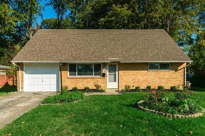 Reynoldsburg Single Family Home Contingent Finance And Inspect: 6532 Penick Drive