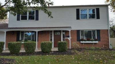 Westerville Single Family Home For Sale: 3593 Panama Drive