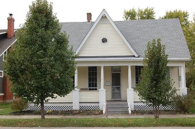 Single Family Home Contingent Finance And Inspect: 216 N Chillicothe Street