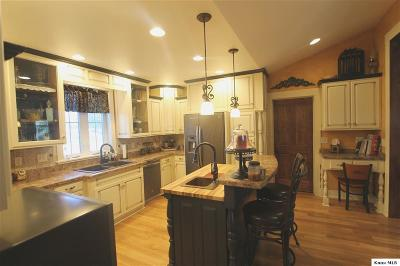 Centerburg Single Family Home For Sale: 2191 Barnes Road