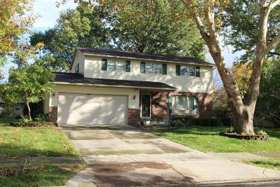 Westerville Single Family Home Contingent Finance And Inspect: 546 Leacrest Place E