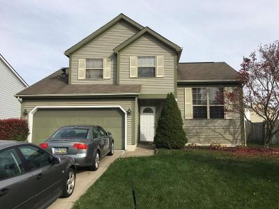 Reynoldsburg Single Family Home Contingent Finance And Inspect: 8482 Priestley Drive
