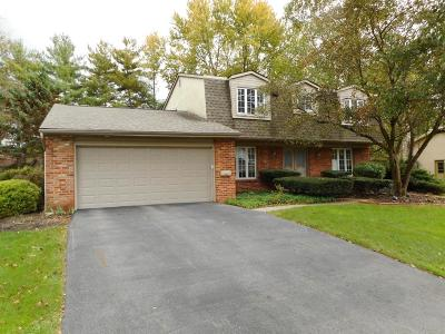 Worthington Single Family Home Contingent Finance And Inspect: 7002 Wethersfield Place