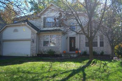 Reynoldsburg Single Family Home Contingent Finance And Inspect: 7751 Priestley Drive
