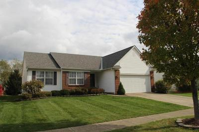 Westerville Single Family Home Contingent Finance And Inspect: 5554 Breshly Way