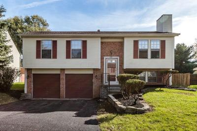 Reynoldsburg Single Family Home Contingent Finance And Inspect: 6811 Bennell Drive