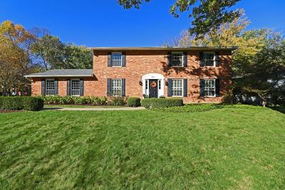 Upper Arlington Single Family Home Contingent Finance And Inspect: 4511 Cassill Street