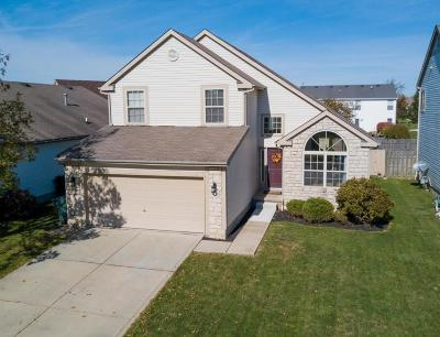 Hilliard Single Family Home Contingent Finance And Inspect: 5958 Paron Place