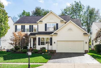 Gahanna Single Family Home Contingent Finance And Inspect: 161 Rivers Edge Way