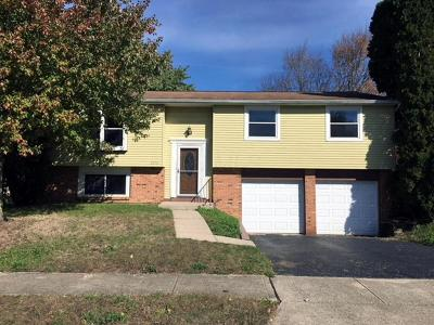 Groveport Single Family Home Contingent Finance And Inspect: 3838 Big Walnut Drive